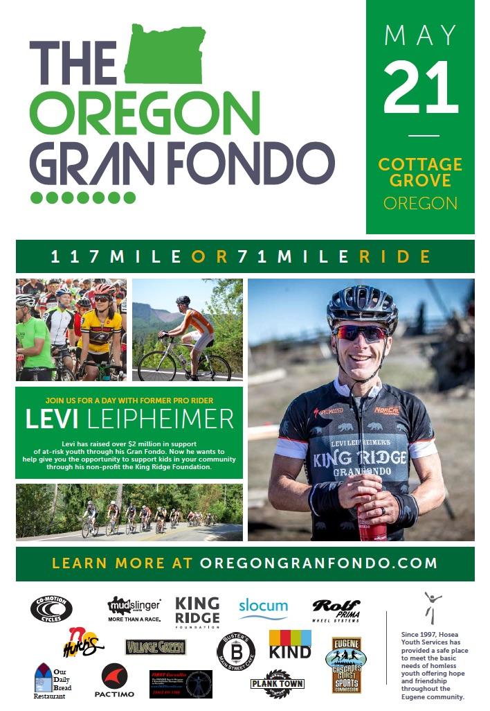 Oregon Gran Fondo image 2017